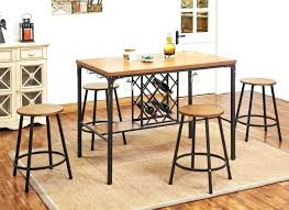 narrow counter height table. Small Counter Height Table Kitchen Dining Bar Round . Narrow