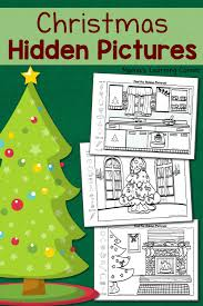 We have hidden pictures you can print yourself. Christmas Hidden Pictures Worksheets Mamas Learning Corner