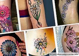 Top 8 Daisy Tetování Vzory A Obrázky Krása A Móda 2019