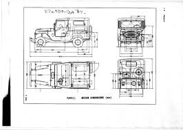 technical specification toyota land cruiser  missedmyride 55 and 60 series land cruiser