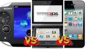 Chart Sony Ngp Vs Nintendo 3ds Vs The Iphone 4 Oc Weekly