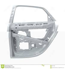 car door frame on white 3d ilration stock ilration ilration of manufacturing