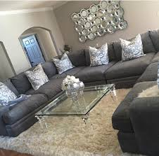 Living Room Grey Couch Living Room Decor Homey Ideas Pinterest Gray Couches Dark