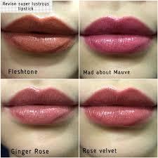 Revlon Super Lustrous Lipstick Colour Chart Revlon Super Lustrous Lipsticks Rose Velvet In 2019