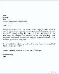 thank you letter appreciation thank you letter for appreciation gift templatezet