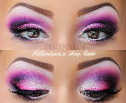 party pink and pretty purple eye makeup tutorial