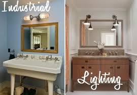 industrial bathroom lighting. industrial bathroom lighting to update your space