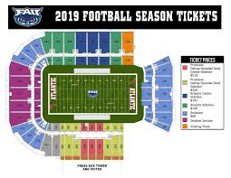 Systematic Ucf Football Stadium Seating Chart 2019