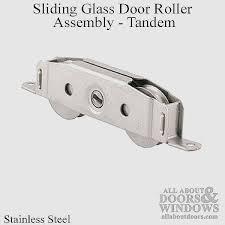 glass door roller replacement new sliding patio door roller assemblies tandem wheels