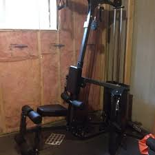 home gym lighting. Home Gym - NORTHERN LIGHTS Granite, Cable Motion Gym, 150lb Stack. EUC ( Lighting