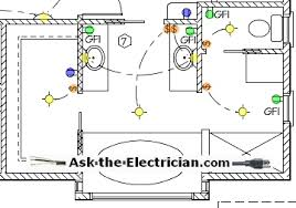 bathroom electrical wiring Basic Bathroom Wiring Diagram electrical wiring diagram bathroom simple bathroom wiring diagram