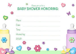 baby shower invitation blank templates blank baby shower invitation templates f cute twin baby shower