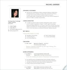 Resume Samples For Free Free Sample Resume Format Intricate Template