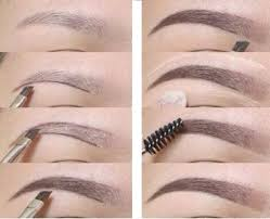 if you have unruly eyebrows apply some clear gel to help the hairs stay in place and the makeup last longer