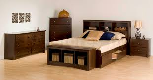 Modern Bedroom Sets With Storage Fremont 4 Pcs Queen Size Storage Contemporary Bedroom Set In