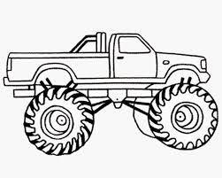 monster truck drawing side view | marycath.info