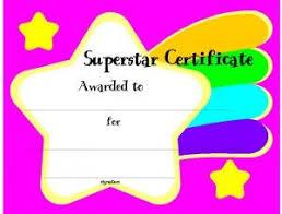 Kids Award Certificate Free Customizable Printable Certificates Of Award Certificate