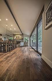 Pretty Walnut Flooring! No shiny coating!
