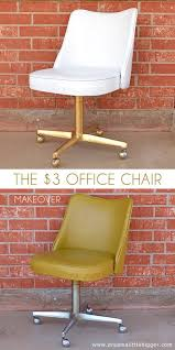 this retro desk chair gets a fresh look thanks to a fresh application of spray paint bedroomcute eames office chair chairs vintage