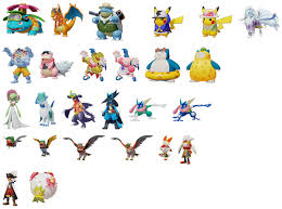 List of Pokemon included in the version