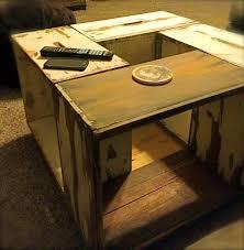 bee box coffee table
