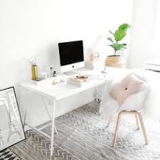 white office design. Office Update | Immy And Indi White Office Design