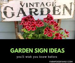 37 funny diy garden sign ideas