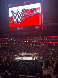 Honda Center Section 207 Row H Seat 13 Wwe Live
