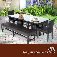 round patio furniture set 6 person outdoor table and chairs dining sets home depot narrow for piece perso