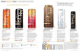 Verve Its Not Your Average Energy Drink Its Packed With