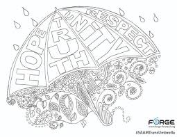 Small Picture SAAM Trans Umbrella Coloring Page FORGE