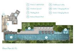 Clubhouse Floor Plan Design Oasis Kai Tak