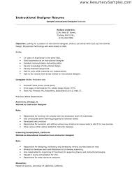 Designer Resume Samples Unique Resume Format Examples Creative with regard  to Instructional Designer Resume Sample
