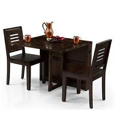 dining table with 2 chairs. danton 3-to-6 - capra 2 seater folding dining table set (mahogany with chairs r