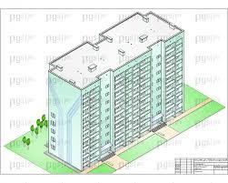 Скачать бесплатно дипломный проект ПГС Диплом № Жилой дом на  Перспектива jpg