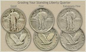 State Quarter Value Chart Standing Liberty Quarter Values Discover The High Values