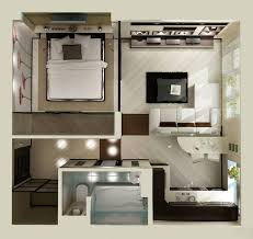 Lovely One Bedroom Apartment Design Ideas With 18 Urban Small Small Studio Apartment Design