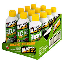 blaster 11 oz industrial strength silicone lubricant case of 12