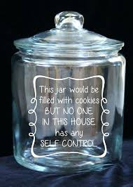 glass cookie jar with lid 1 gallon glass cookie jar no self control custom by classic