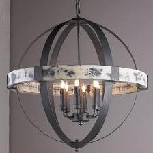 aspen wrought iron globe chandelier large large iron chandelier e56