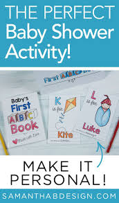 The Perfect Baby Shower Activity Babys First Abc Coloring Book For