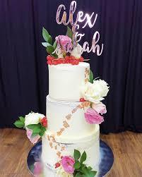 Akudankraf - Rose <b>Gold Mirror Acrylic</b> for a <b>wedding</b> cake... | Facebook