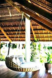 outdoor hanging bed plans interior swing beds amazing porch swinging intended for from