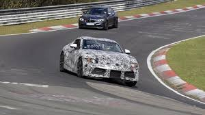 2018 Toyota Supra spied on the 'Ring | Motor1.com Photos
