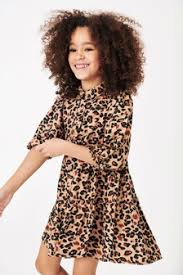 <b>Girls</b> dresses <b>Animal print</b>