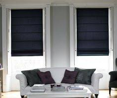 cotton damson roman blind a great addition to the range adding a subtle yet elegant look to a living room from made to mere