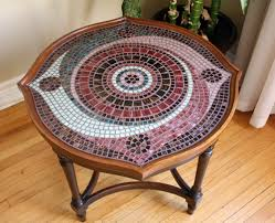 spiral mosaic coffee table mosaic coffee table designs