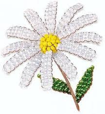 <b>Набор для творчества Клевер</b> Цветы из бисера Жемчужная ...