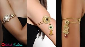 Simple Armlet Designs Simple Kundan Bajuband Design Gold Armlet Design