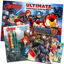 Select from 35428 printable crafts of cartoons, nature, animals, bible and many more. Amazon Com Marvel Avengers Coloring Book Super Set With Crayons 3 Jumbo Books Featuring Captain America Thor Hulk Iron Man And More Toys Games